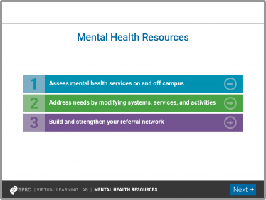 Mental Health Resources module thumbnail image